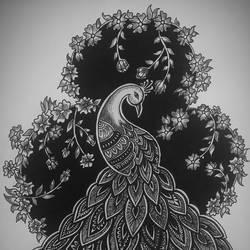Mandala art - 10x13
