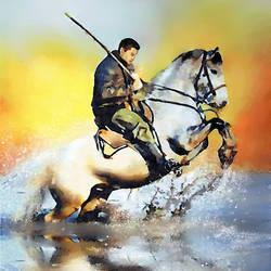 Horse Riding - 28x32