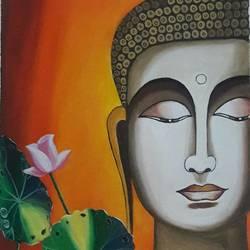 Buddha - 12x18