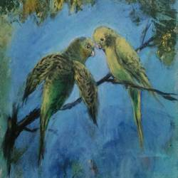 The Budgies - 18x24