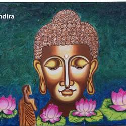 BUDDHA MEDITATING - INNER PEACE - 24x18