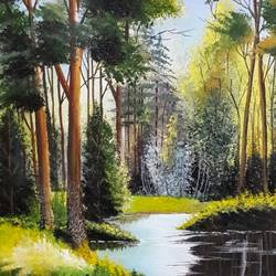Green Forest - 12x19