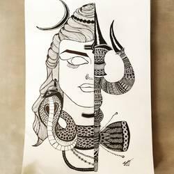 Lord Shivji - 12x16