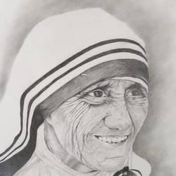MOTHER TERESA  12*13 in - 12x13