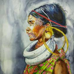 Ethnic grace - 14x20