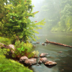Forest & River - 32x21