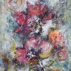 Dancing Flowers - 8.2x11.6