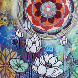 Meditative Mandala - 12x16