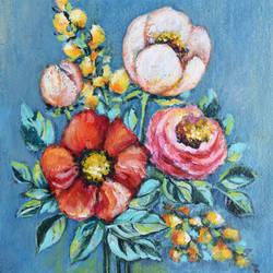 Spring Bouquet - 10.6x14.5