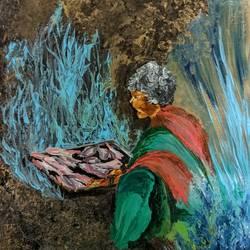 Fisherwoman - 11x12