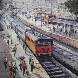Railway station-1 - 15x22