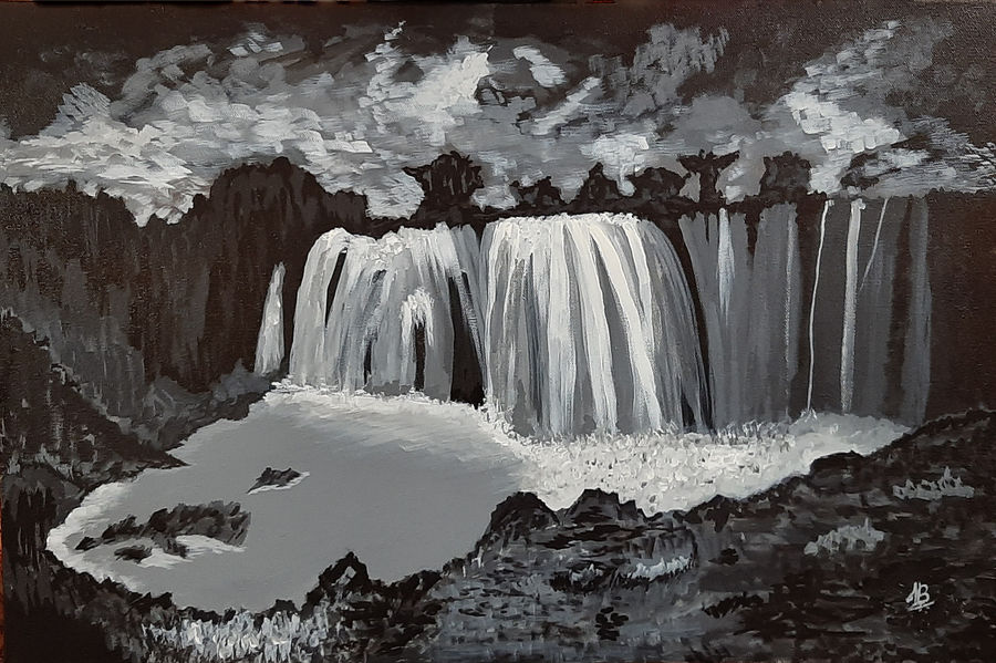 night fall, 24 x 16 inch, tejal bhagat,24x16inch,canvas,paintings,landscape paintings,conceptual paintings,nature paintings | scenery paintings,expressionism paintings,impressionist paintings,photorealism paintings,photorealism,realism paintings,surrealism paintings,realistic paintings,water fountain paintings,paintings for living room,paintings for bedroom,paintings for office,paintings for bathroom,paintings for kids room,paintings for hotel,paintings for kitchen,paintings for schools & colleges,paintings for hospital,acrylic color,ADR21262030745