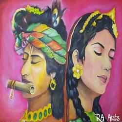 Radha Krishna - 22x15
