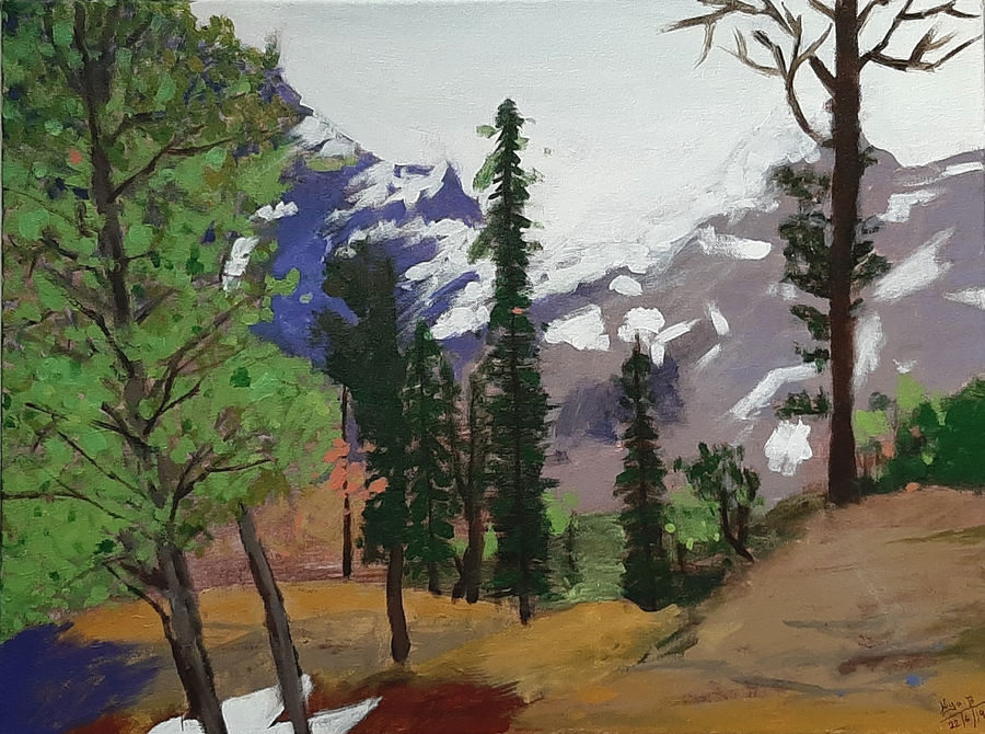 himachal forest, 24 x 18 inch, tejal bhagat,24x18inch,canvas,paintings,landscape paintings,nature paintings | scenery paintings,expressionism paintings,impressionist paintings,photorealism paintings,photorealism,realism paintings,surrealism paintings,contemporary paintings,realistic paintings,paintings for dining room,paintings for living room,paintings for office,paintings for hotel,paintings for kitchen,paintings for schools & colleges,paintings for hospital,acrylic color,ADR21262030757