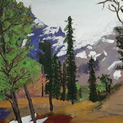 Himachal Forest - 24x18