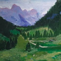 Himachal Greens - 20x16