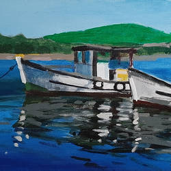 The Boats - 24x12