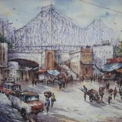 Market near howrah bridge-1 - 22x15