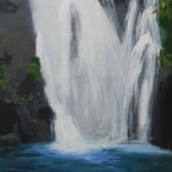 Waterfall - 12x30