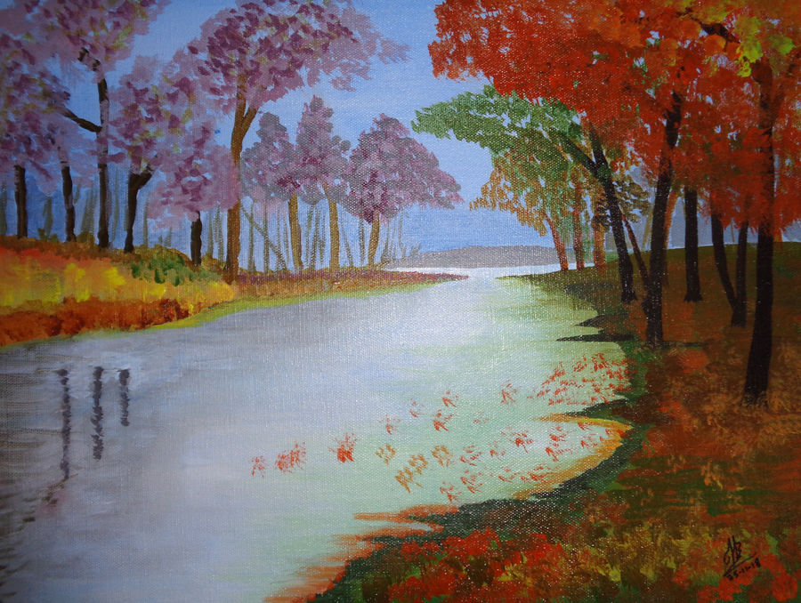 river scape, 16 x 12 inch, tejal bhagat,16x12inch,canvas board,paintings,flower paintings,landscape paintings,nature paintings | scenery paintings,expressionism paintings,impressionist paintings,photorealism paintings,photorealism,realism paintings,surrealism paintings,contemporary paintings,realistic paintings,love paintings,paintings for dining room,paintings for living room,paintings for bedroom,paintings for office,paintings for bathroom,paintings for hotel,paintings for kitchen,paintings for schools & colleges,paintings for hospital,acrylic color,ADR21262030780