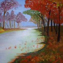 River Scape - 16x12