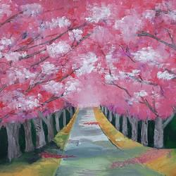 Cherry Blossom - 20x16