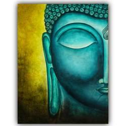 Buddha Peace Painting - 11x15