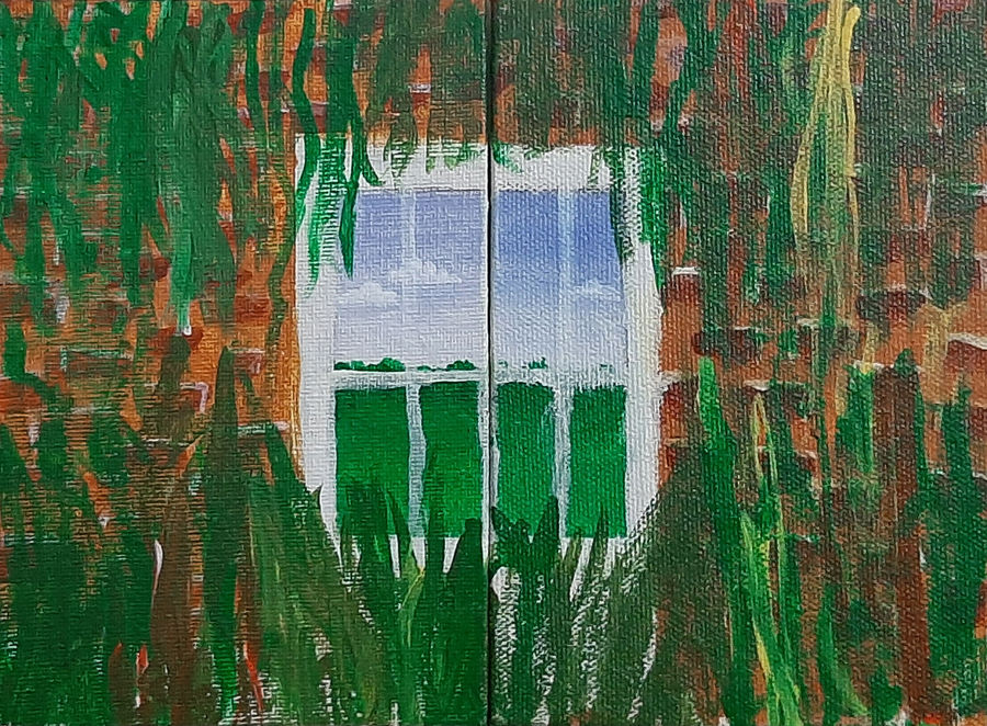 window, 8 x 6 inch, tejal bhagat,8x6inch,canvas board,paintings,landscape paintings,conceptual paintings,nature paintings   scenery paintings,abstract expressionism paintings,expressionism paintings,impressionist paintings,photorealism paintings,photorealism,realism paintings,surrealism paintings,contemporary paintings,realistic paintings,love paintings,paintings for dining room,paintings for living room,paintings for bedroom,paintings for office,paintings for bathroom,paintings for hotel,paintings for kitchen,paintings for schools & colleges,paintings for hospital,acrylic color,ADR21262030830