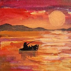 Sunset - 8x8