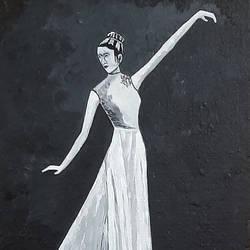 Dancing Lady - 12x16