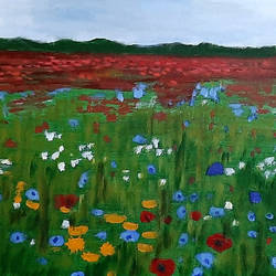 Flowers - 16x12