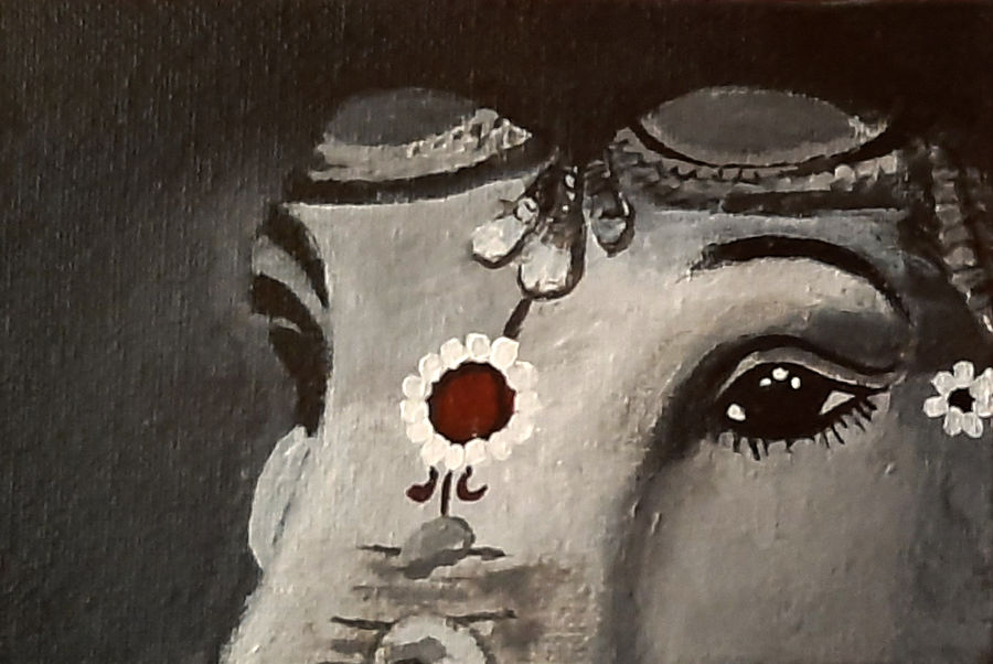 ganesha, 6 x 4 inch, tejal bhagat,6x4inch,canvas board,paintings,landscape paintings,conceptual paintings,religious paintings,expressionism paintings,impressionist paintings,photorealism paintings,photorealism,realism paintings,surrealism paintings,ganesha paintings | lord ganesh paintings,contemporary paintings,realistic paintings,love paintings,children paintings,lord shiva paintings,paintings for dining room,paintings for living room,paintings for bedroom,paintings for office,paintings for kids room,paintings for hotel,paintings for kitchen,paintings for schools & colleges,paintings for hospital,acrylic color,ADR21262030843