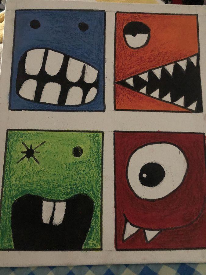kids painting, 25 x 30 inch, ruchi trivedi ,25x30inch,canvas,paintings,abstract paintings,paintings for dining room,paintings for living room,paintings for office,paintings for kids room,acrylic color,ADR21365030862