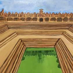 Bhoginandeeshwara - 11.7x16.5