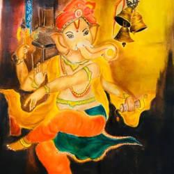 Ganesha - 16.5x23.5