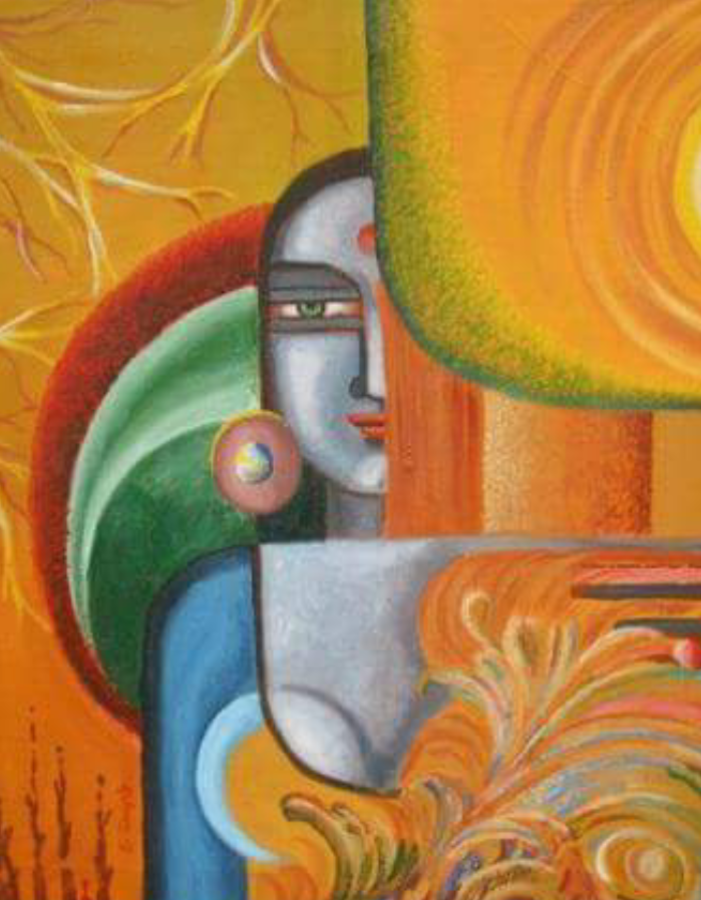 eternal , 18 x 24 inch, shyamal  ganguly ,18x24inch,canvas,paintings,abstract expressionism paintings,acrylic color,ADR20860030888