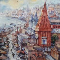Top view of benaras-1 - 15x22