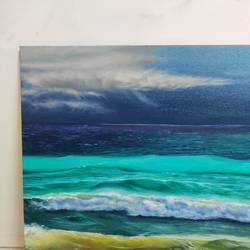 Roaring waves - 16x20