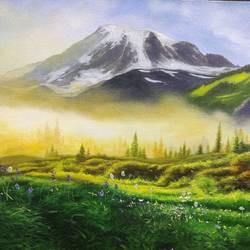 Sun-kissed landscapes - 16x20