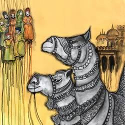 Jaisalmer  - 30x34