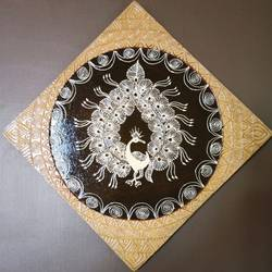 warli painting- The 3D warli - 15x15
