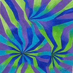 psychedelic design 1 - 11x14