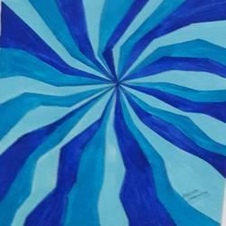 psychedelic design 2 - 11x14