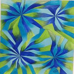 psychedelic design 3 - 11x14
