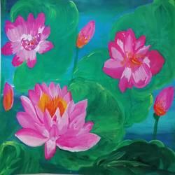 lotus - 14.8x10.8