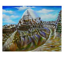 Mount kailash  - 20x15.5