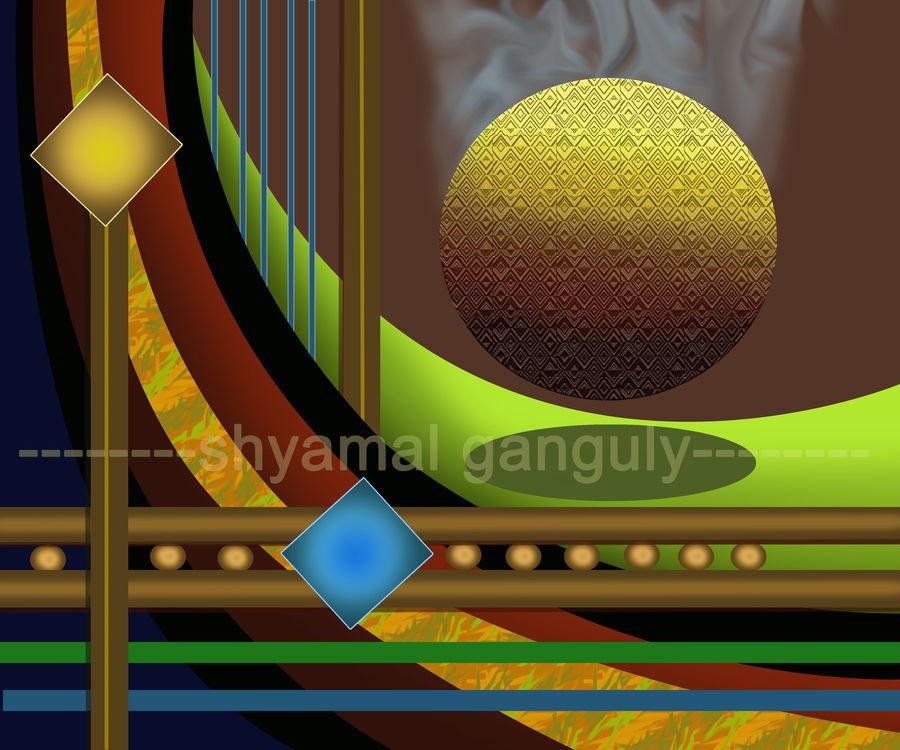 abstract , 24 x 20 inch, shyamal  ganguly ,24x20inch,canvas,paintings,abstract paintings,paintings for living room,paintings for office,paintings for hotel,digital print,ADR20860031044