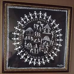warli painting - 18x17