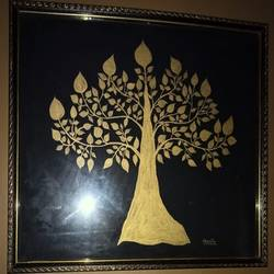 golden tree - 18x15