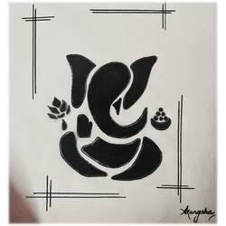 Lord Ganesha - 8.3x11.7